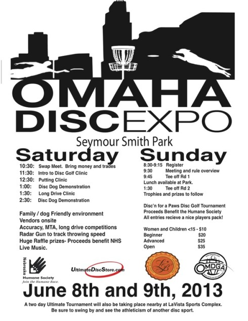 Disc Golf Expo in Omaha
